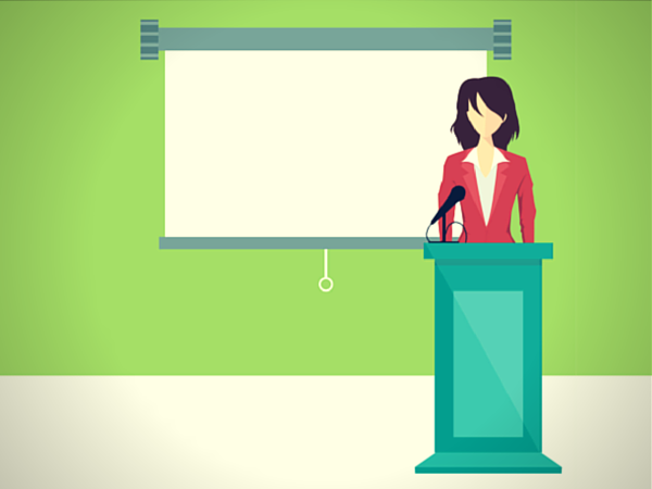 How to present with authority