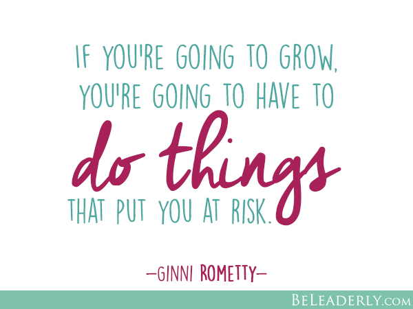 If you're going to grow