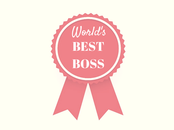 pictures of best boss award
