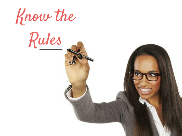 The five rules of professionalism