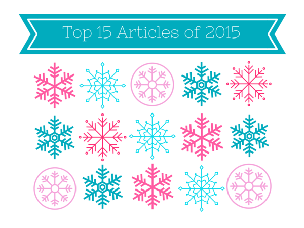 Top 15 most-read articles of 2015
