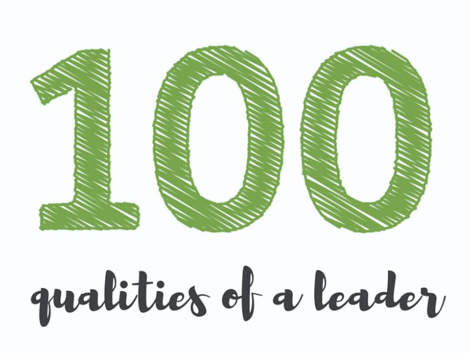 100 Qualities of a Leader