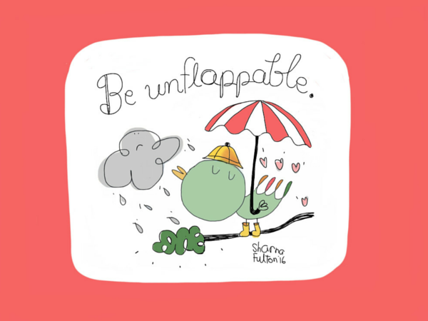Leaderly Quote: Be Unflappable
