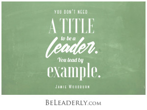 Emerging Leader Spotlight: You don't need a title to be a leader. You lead by example.