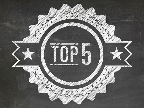Top 5 Most-Read Articles this Month