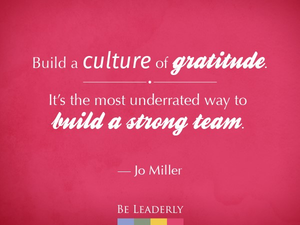 Leaderly Quote: Building a strong team