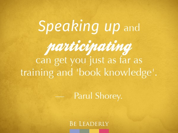 Emerging Leader Spotlight: Parul Shorey