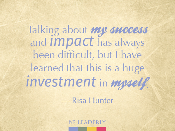 Emerging Leader Spotlight: Risa Hunter