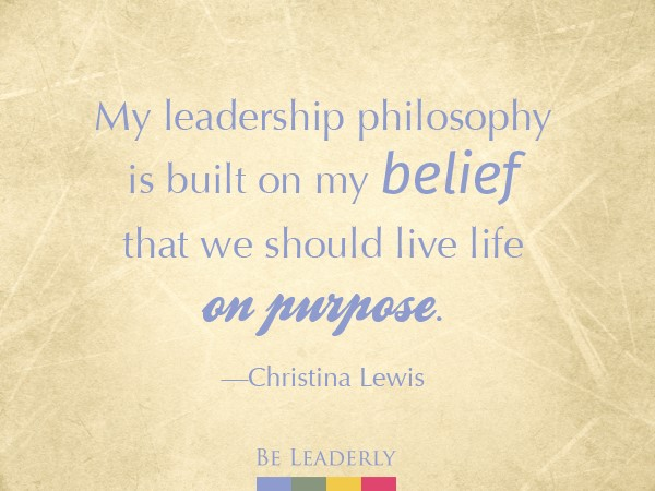 Emerging Leader Spotlight: Christina Lewis