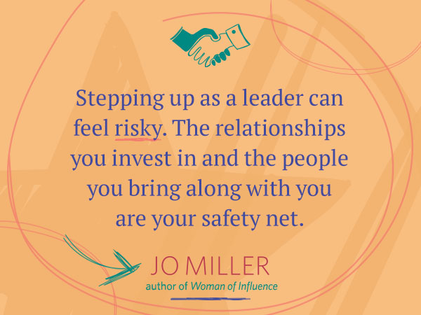 Stepping up as a leader can feel risky