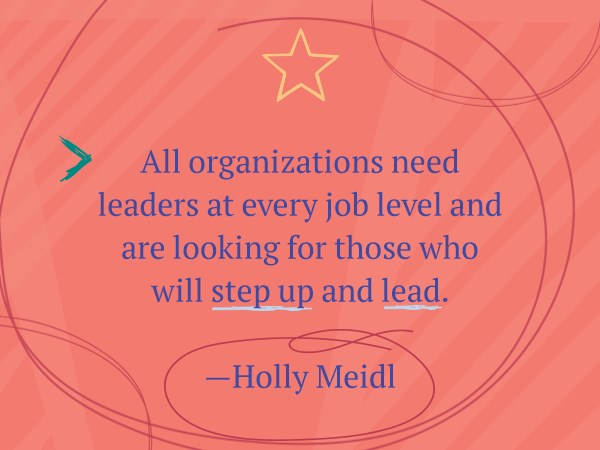 All organizations need leaders